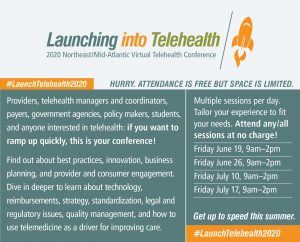 Launching to Telehealth Virtual Conference